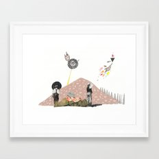 Did You See That!? Framed Art Print
