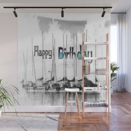 Happy Birthday Wall Mural