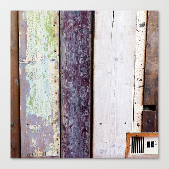 Wood Canvas Print
