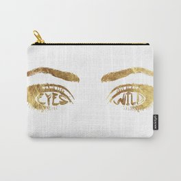 Eyes Wild Carry-All Pouch
