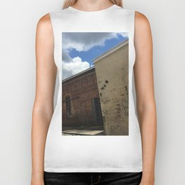 Stop being boring brick wall Alabama Biker Tank