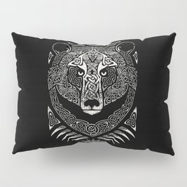 Scandinavian bear Pillow Sham