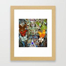 Butterfly in Cappella Sistina SistineChapel Framed Art Print