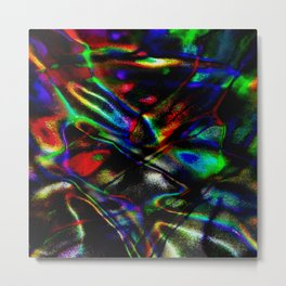 Stretch the Rainbow Metal Print