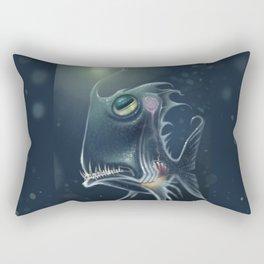 Self Hypnosis, Glass Fish Rectangular Pillow