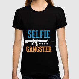 Selfie Gangster T-shirt