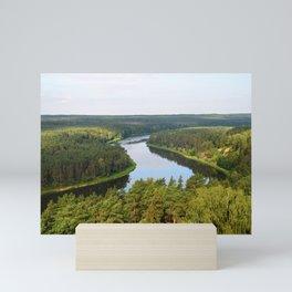 River Nemunas Mini Art Print