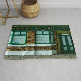 Rovers Return, Coronation Street in Miniature Rug