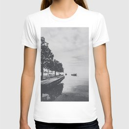 Boats on the lake T-shirt