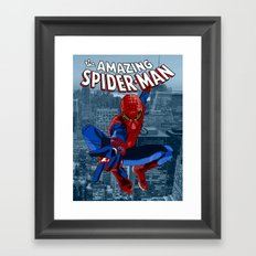 Amazing Spider-Man (Comic Title) Framed Art Print