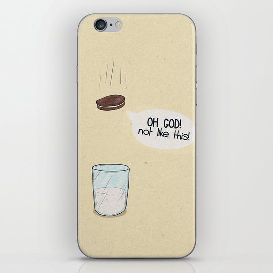 a biscuit's journey iPhone & iPod Skin