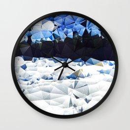 Carolina Snow Wall Clock