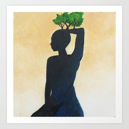 Mother Nature 2 Art Print