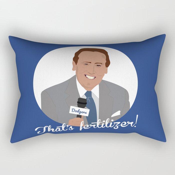 Vin Scully Rectangular Pillow