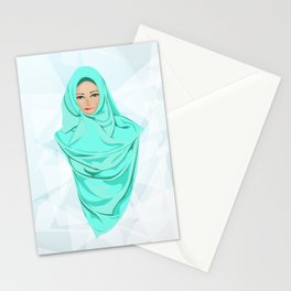 Turquoise Stationery Cards