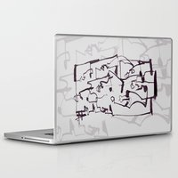 dirty dancing Laptop & iPad Skins featuring Dirty by 5wingerone