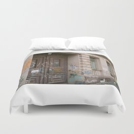 No Entry Duvet Cover