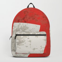 Flag of England and Saint George Grunge Backpack
