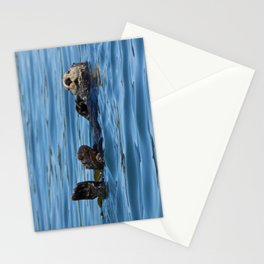 Sea Otter Photography Print Stationery Cards