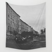 berlin Wall Tapestries featuring Berlin by Jane Lacey Smith