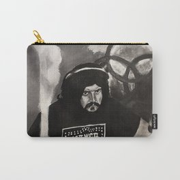 John Bonham,led zeppelin,musician,drummer,sound,black and white,painting,rock and roll, music,album, Carry-All Pouch
