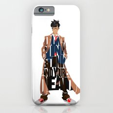 Doctor Who Inspired Tenth Doctor's Typographic Artwork Slim Case iPhone 6s