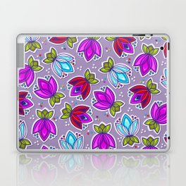 Pop Off Floral Laptop & iPad Skin