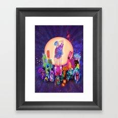 Silly Parade Framed Art Print