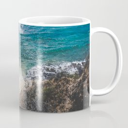 Surfer meets Sea - Diamond Head / Oahu / Hawaii Coffee Mug
