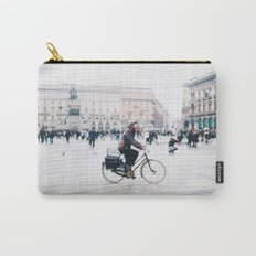 Biking in Milan Carry-All Pouch