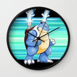 Water Pocket Monster #009 Wall Clock