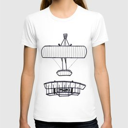 The Wright Brothers' Airplane (FREE UNIT WITH PURCHASE!) T-shirt