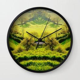 Distant Memories Wall Clock