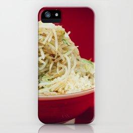 Ramen Jiro iPhone Case
