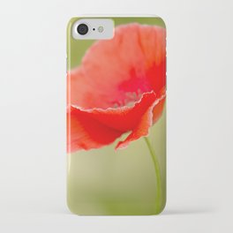 Miss you so much Red Poppy #decor #society6 iPhone Case