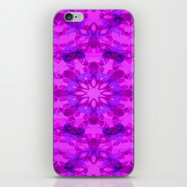 Star blossom pattern iPhone Skin