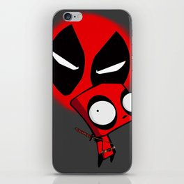 Dead-pool GIR  iPhone Skin