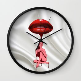 Mouth Watering Wall Clock