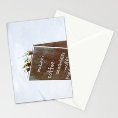Outside the Coffee Shop Stationery Cards