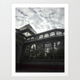 Cristal palace Art Print
