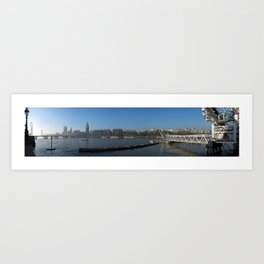 London: Westminster panorama Art Print
