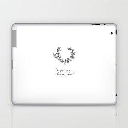 A Glad And Humble Cheer Laptop & iPad Skin