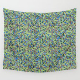 Leaves and Branches in Weaving Tangle Wall Tapestry