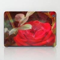 ruby iPad Cases featuring Ruby by Aubrey