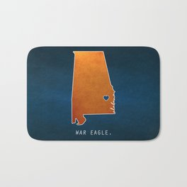 War Eagle Bath Mat