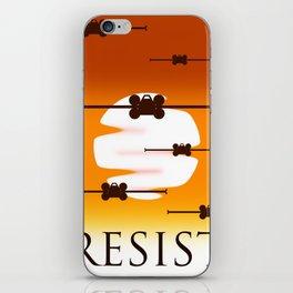 Rebel Resistence iPhone Skin