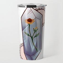 Encased Wildflower Travel Mug