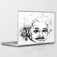 chibi Laptop & iPad Skins featuring Chibi Einstein by Hazel Bellhop
