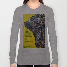 The Cattle on a Thousand Hills Long Sleeve T-shirt