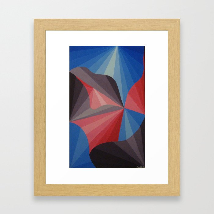 Luz- 4 Framed Art Print